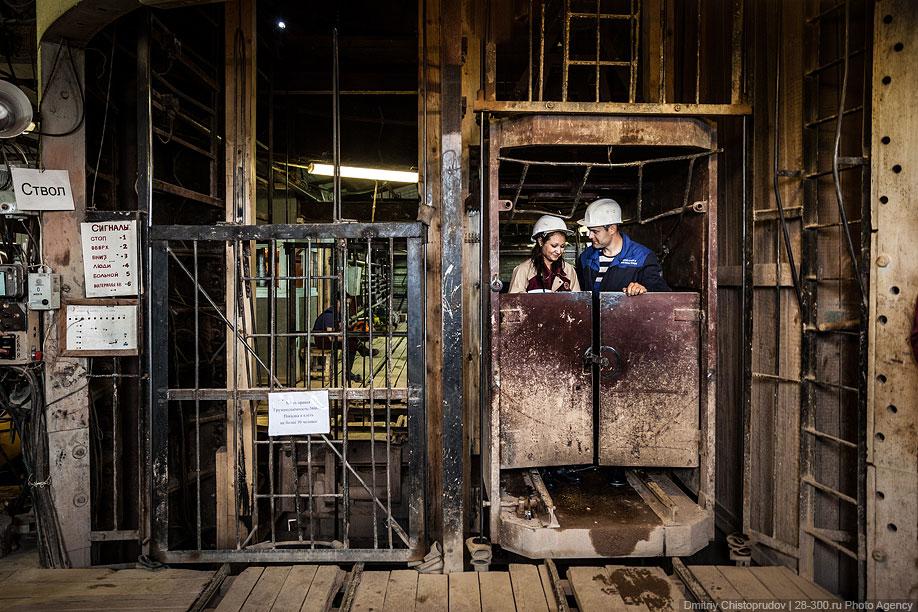 одна клеть в шахте фото удивительно