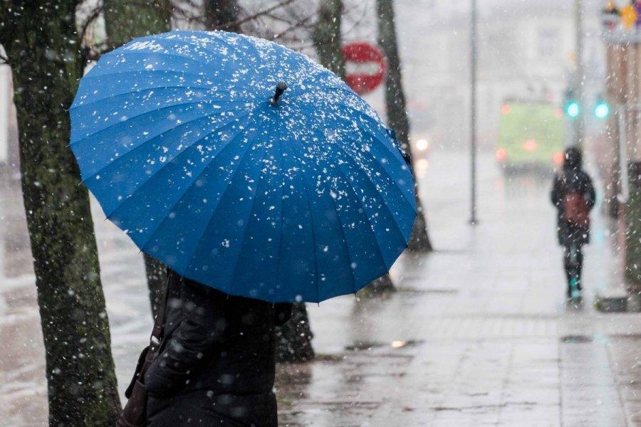 Мокрый снег предполагается навыходных вКузбассе