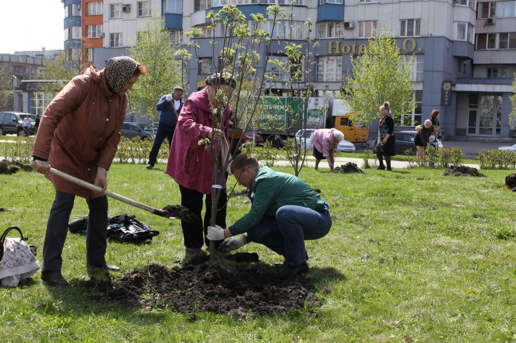 Аман Тулеев объявил вКузбассе осенний месячник посадки деревьев