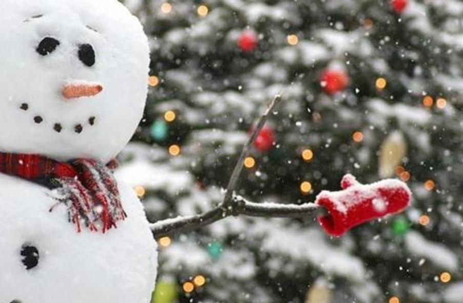 Мокрый снег игололед ожидают жителей столицы вканун Нового года